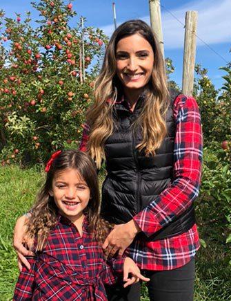 Fry Orthodontics Dr Sarah Naon With Daughter