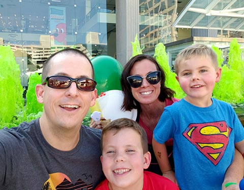 Dr Martin Family Selfie