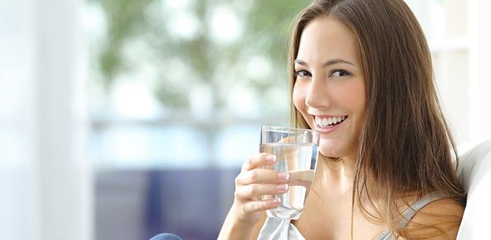 drink water oral health